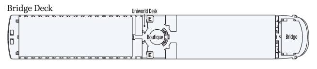UNIWORLD Boutique River Cruises Century Legend Deckplans Bridge Deck.png