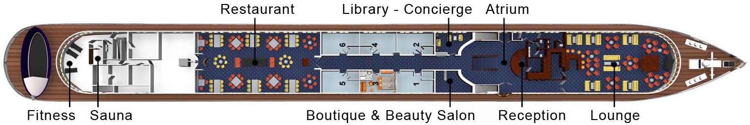 Hebridean Island Cruises Royal Crown Deck Plans Panorama Deck.jpg