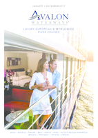 Avalon Waterways 2017 European & Worldwide River Cruises