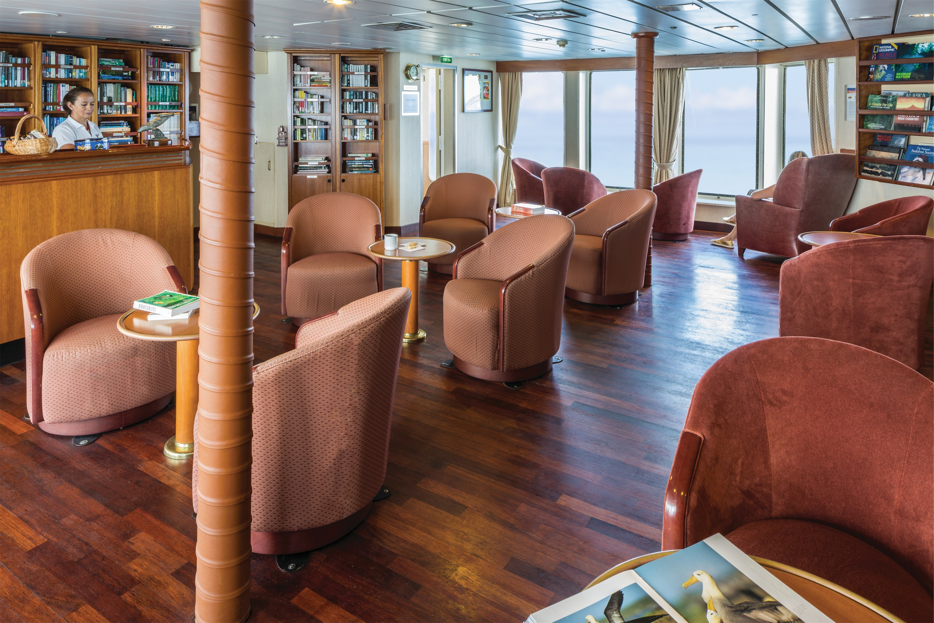 Lindblad Expeditions National Geographic Endeavour Interior Library 2.jpg