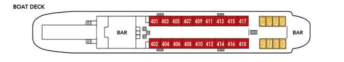 Noble Caledonia Rakhmaninov Deck Plan Boat Deck.png