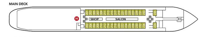 Noble Caledonia Rakhmaninov Deck Plan Main Deck.png