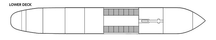 Noble Caledonia Rakhmaninov Deck Plan Lower Deck.png