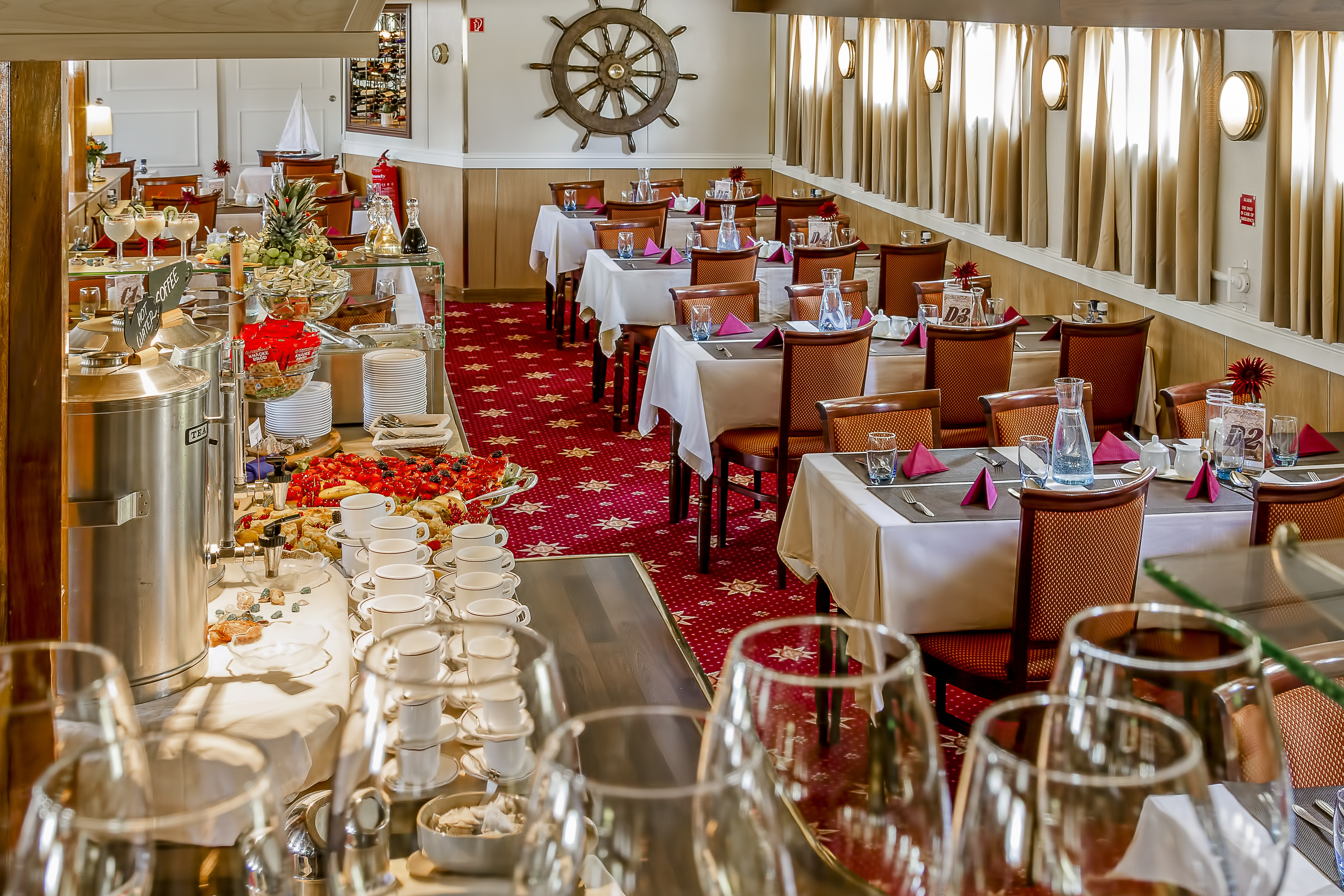 The River Cruise Line MPS Lady Anne Interior Restaurant 1.jpg