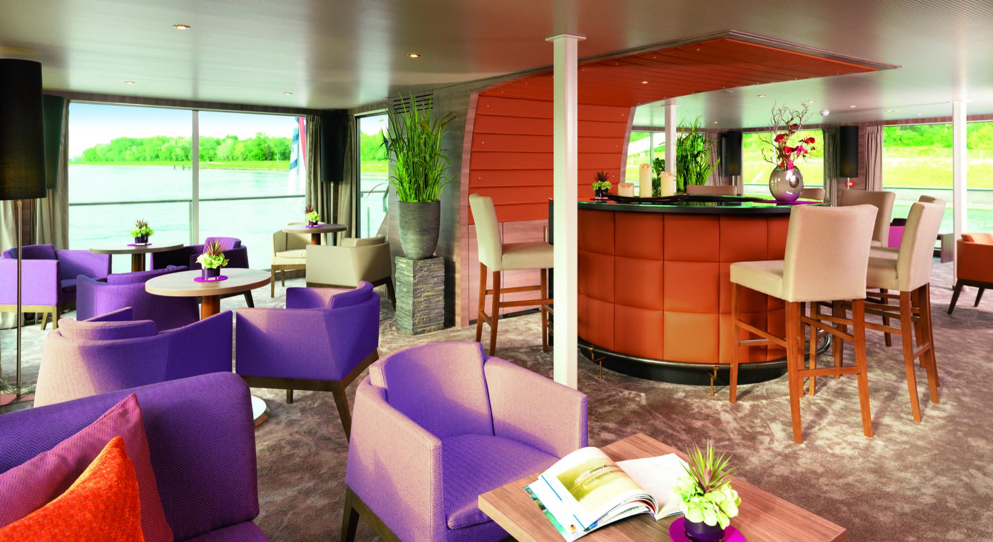 Amadeus River Cruises Amadeus Silver II Interior Amadeus Club.jpg