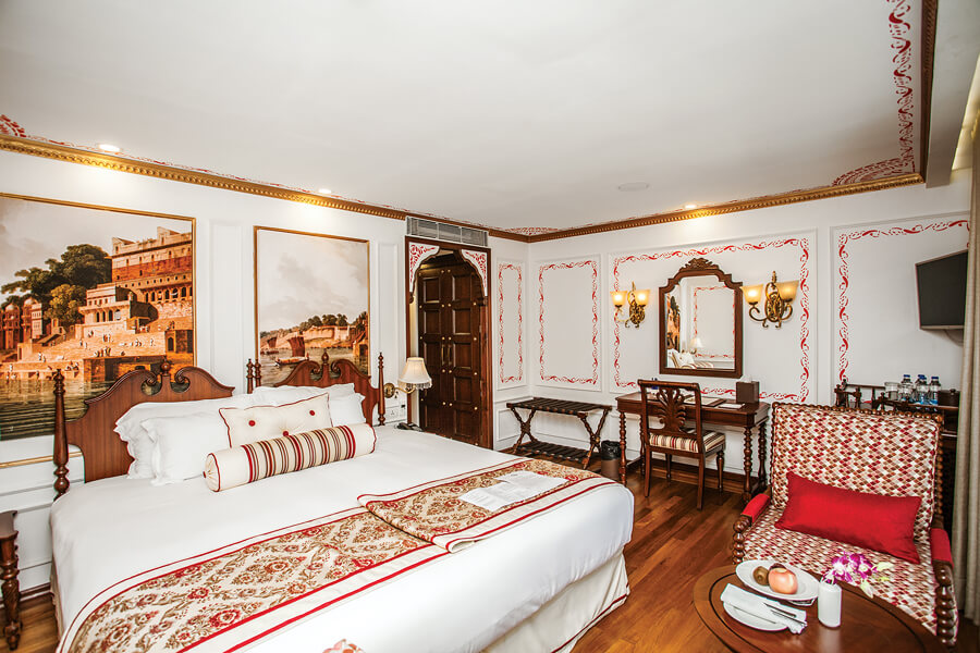 UNIWORLD Boutique River Cruises Ganges Voyager II Accommodation Colonial Suite 1.jpg