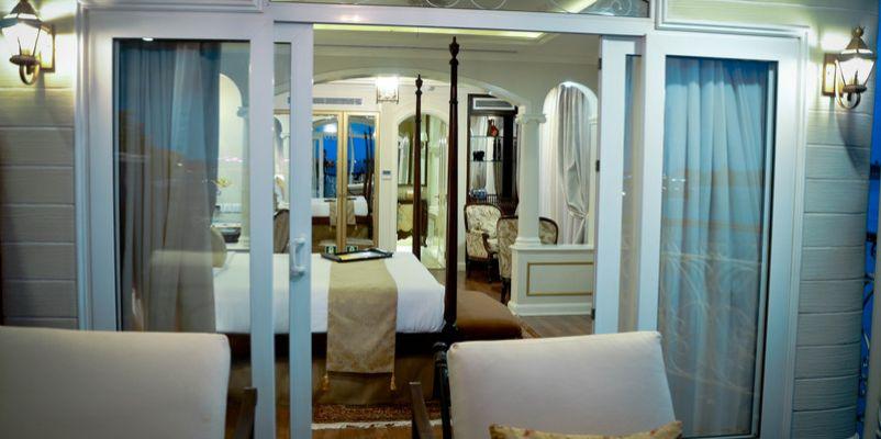 Noble Caledonia RV Mekong Princess Accommodation Angkor Suite 2.jpg