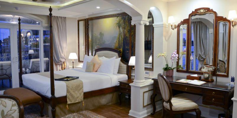 Noble Caledonia RV Mekong Princess Accommodation Angkor Suite 1.jpg