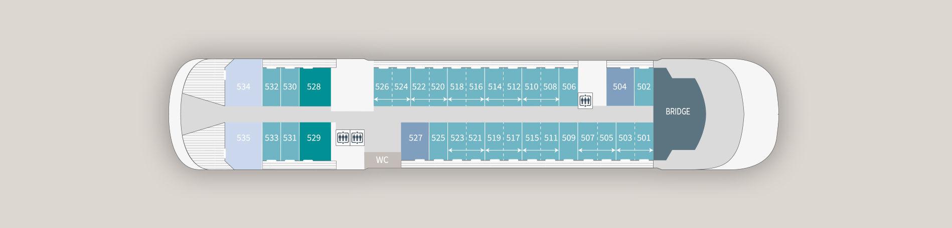 Ponant Le Laperouse Deck Plans Deck 5.jpg