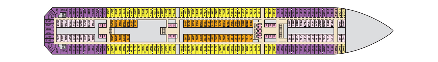 Carnival Cruise Lines Carnival Sunshine Deck Plans Deck 2 jpg.jpg