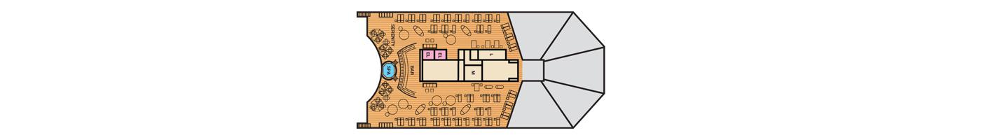 Carnival Cruise Lines Carnival Sunshine Deck Plans Deck 14 jpg.jpg