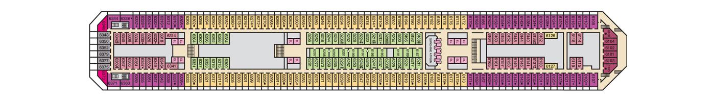 Carnival Cruise Lines Carnival Sunshine Deck Plans Deck 6 jpg.jpg