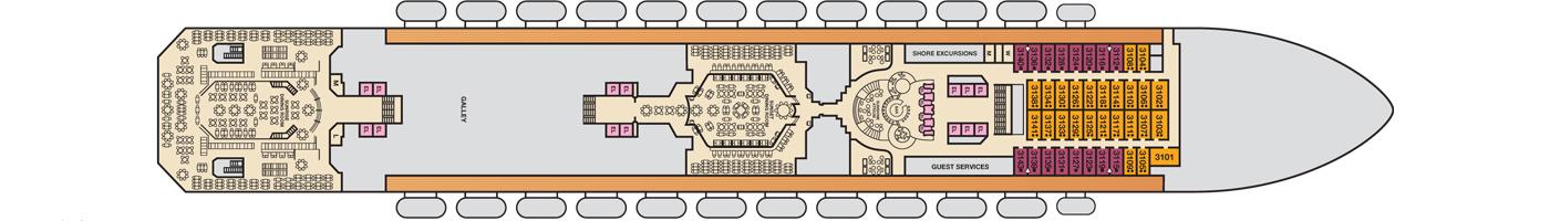 Carnival Cruise Lines Carnival Sunshine Deck Plans Deck 3 jpg.jpg