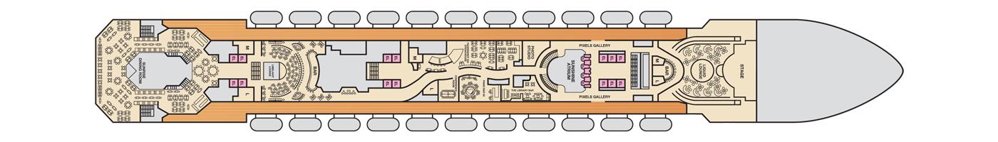 Carnival Cruise Lines Carnival Sunshine Deck Plans Deck 4 jpg.jpg