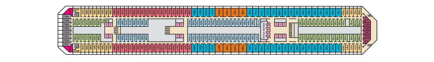 Carnival Cruise Lines Carnival Sunshine Deck Plans Deck 7 jpg.jpg