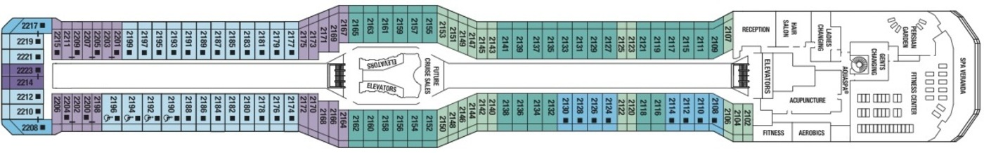 Celebrity Reflection Celebrity Cruises - Celebrity reflection deck plan