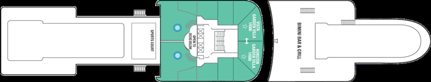 Norwegian Cruise Line Norwegian Dawn Deck Plans Deck 14.png