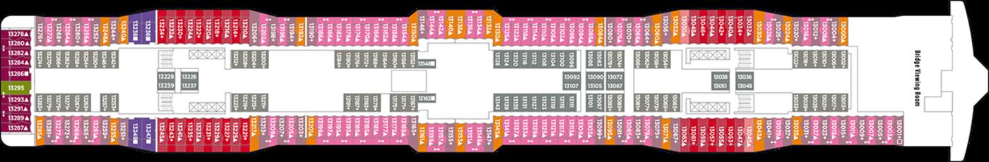 Norwegian Cruise Line Norewegian Epic Deck Plans Deck 13.png