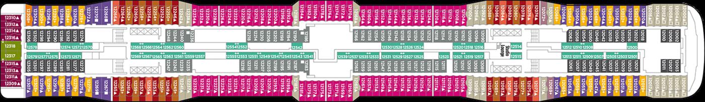 Norwegian Cruise Line Norewegian Epic Deck Plans Deck 12.png
