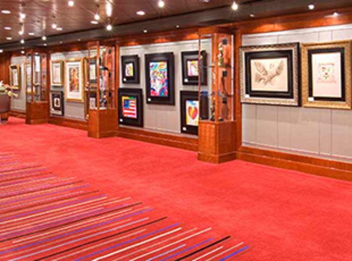 Norwegian Cruise Line Norwegian Jewel Interior Art Gallery.jpg