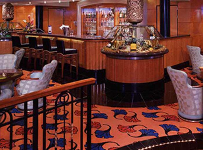 Norwegian Cruise Line Norwegian Spirit Interior Charlie's Champagne Bar.jpg