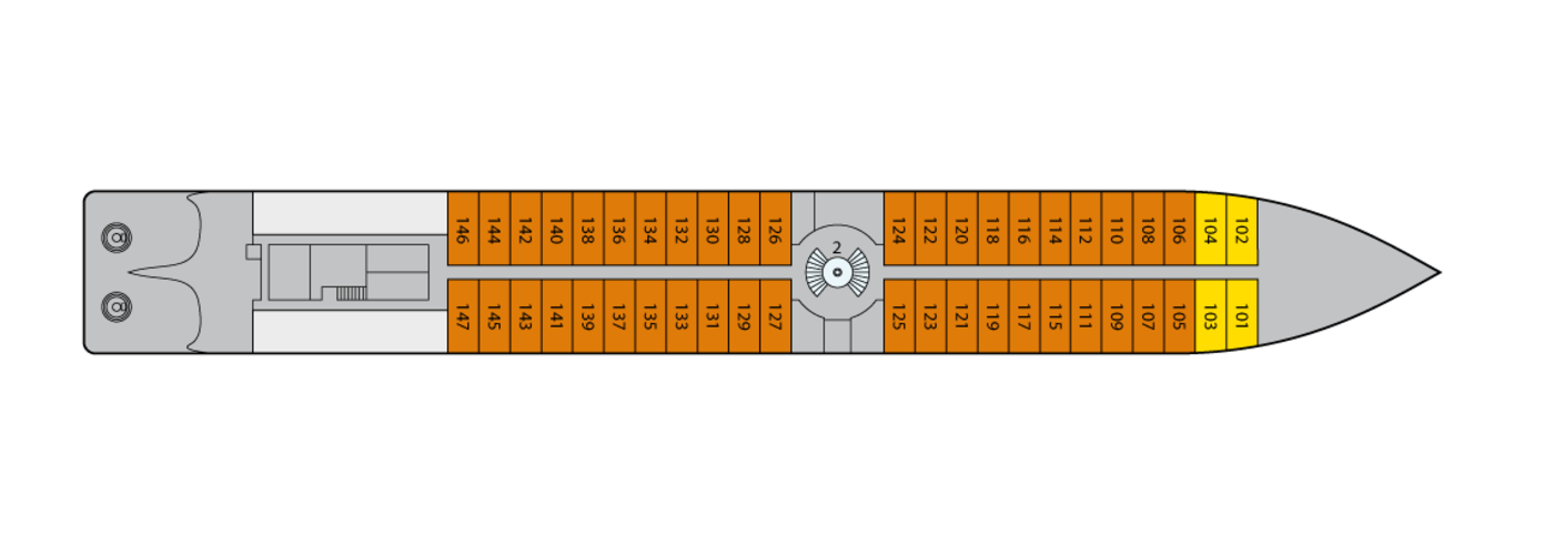 A-ROSA BELLA A-ROSA DONNA A-ROSA MIA A-ROSA RIVA Deck Plans Deck 1.png