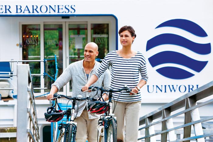 UNIWORLD Boutique River Cruises River Baroness Exterior Bicycles.jpg