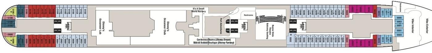 Disney Cruise Line Disney Dream & Disney Fantasy Deck plans Deck 5.jpg