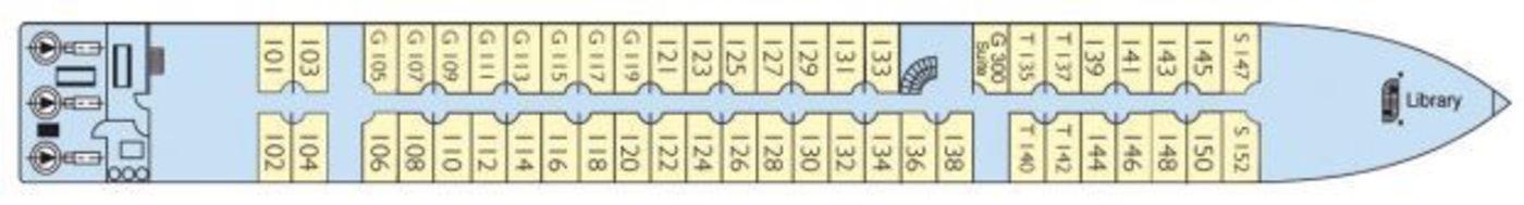 CroisiEurope MS Douce France Deck Plans Main Deck.jpg
