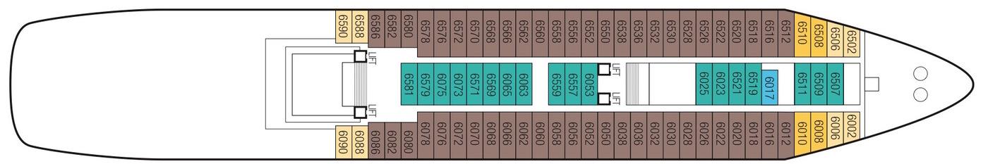 Saga Cruises Saga Sapphire Deck Plans Deck 6.jpeg