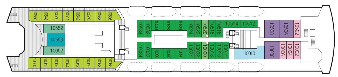 Saga Cruises Saga Sapphire Deck Plans Deck 10.jpeg