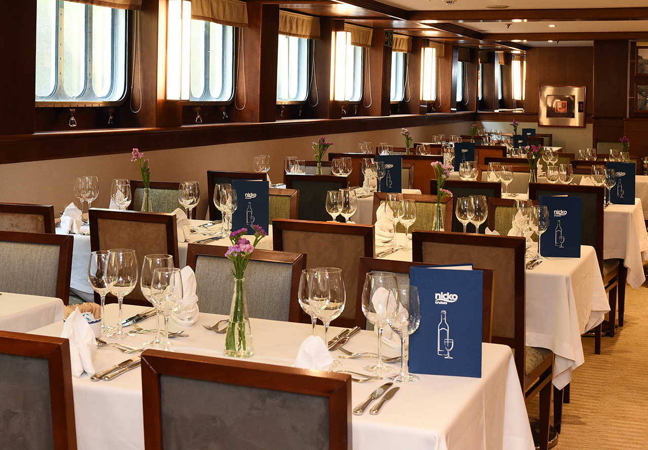 Nicko Cruises MS Douro Cruiser Restaurant.jpg
