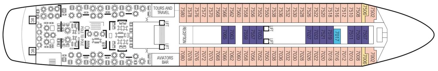 Saga Cruises Saga Sapphire Deck Plans Deck 7.jpeg