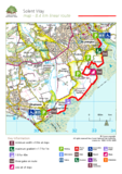 The new forest solent way walking route
