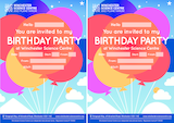 Winchester science centre downloadable birthday invites