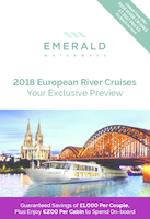 Emerald Waterways 2018 European River Cruises