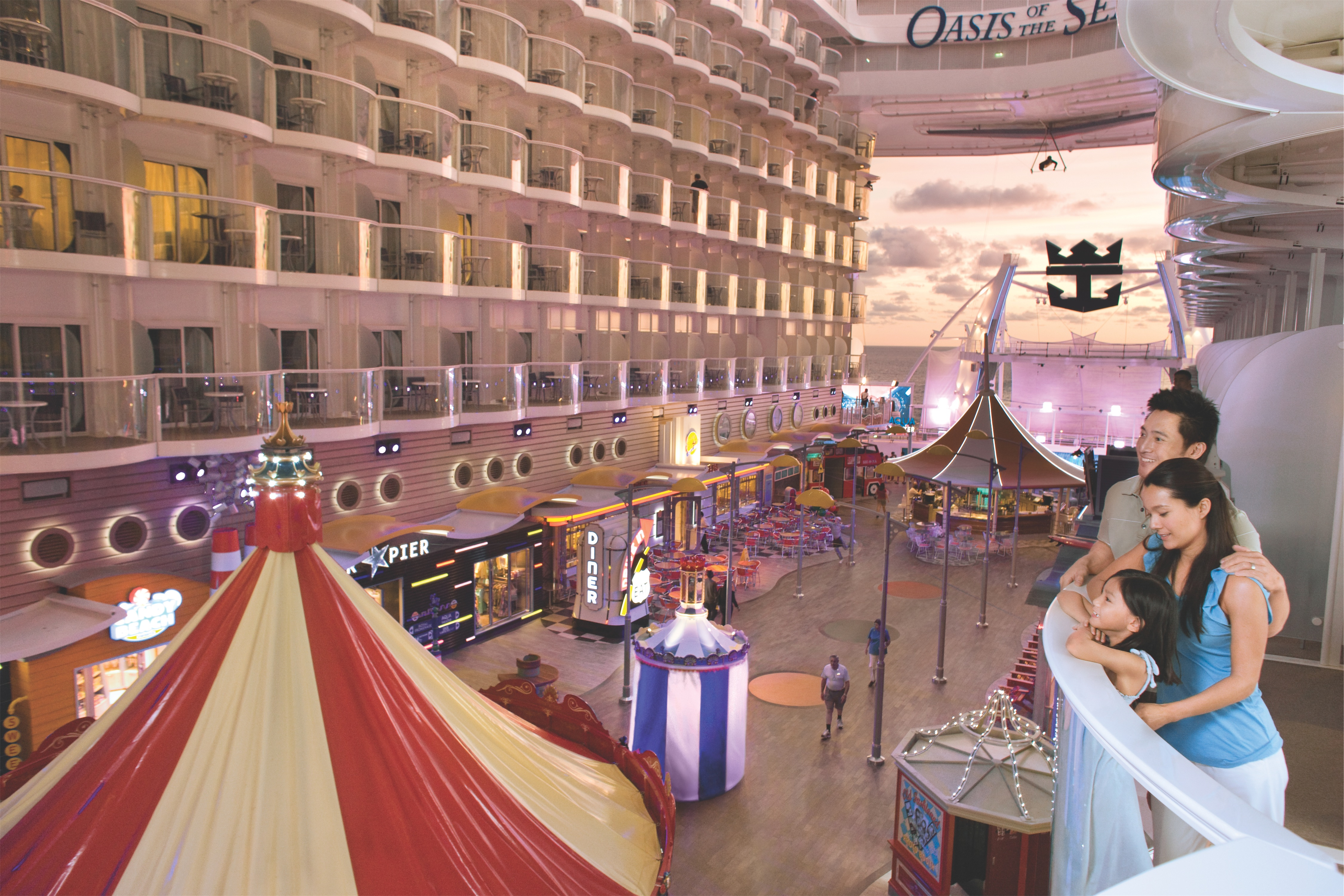 Royal Caribbean International Oasis of the Seas Interior Boardwalk Balcony Family.jpg