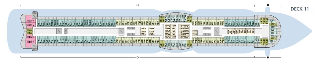 AIDA AIDAperla Deck Plans Deck 11.png