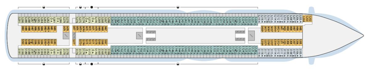 AIDA AIDAperla Deck Plans Deck 5.png