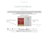 Chewton glen wine list