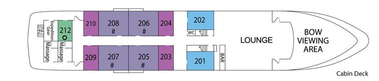UnCruise Safari Endeavour Deck Plans Cabin Deck.png