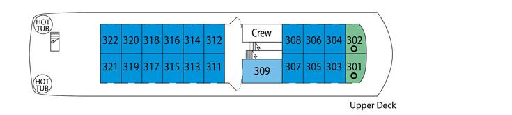 UnCruise Safari Endeavour Deck Plans Upper Deck.png