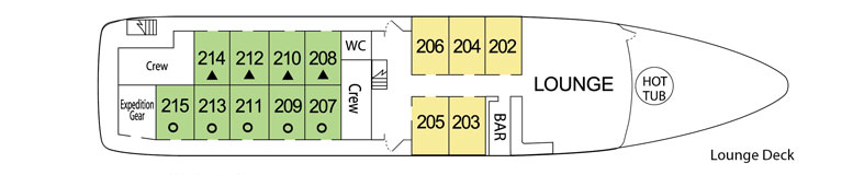 UnCruise Wilderness Explorer Deck Plans Lounge Deck.png